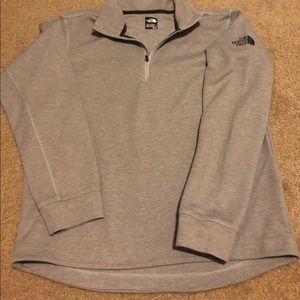 Men's NORTH FACE Sweatshirt size Medium 1/4 zip up